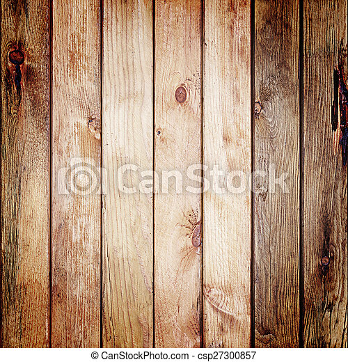 Wooden wall texture for background. - csp27300857