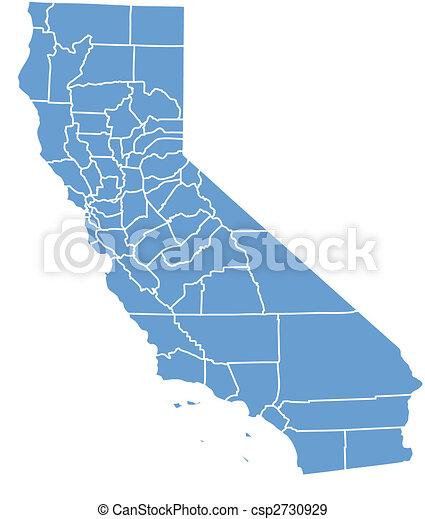 California map - csp2730929