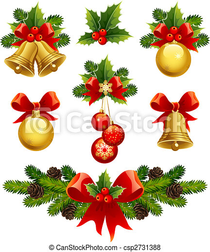 christmas ornaments - csp2731388