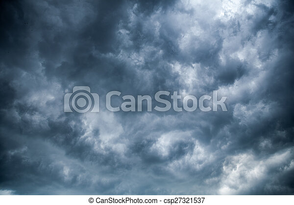 Overcast clouds.