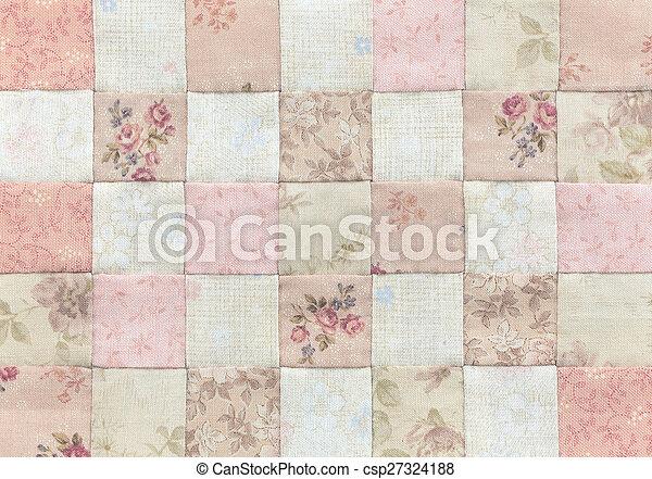 röra, mönster, täcke, grundläggande - csp27324188
