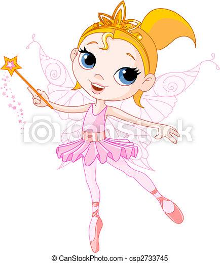 Cute fairy - csp2733745