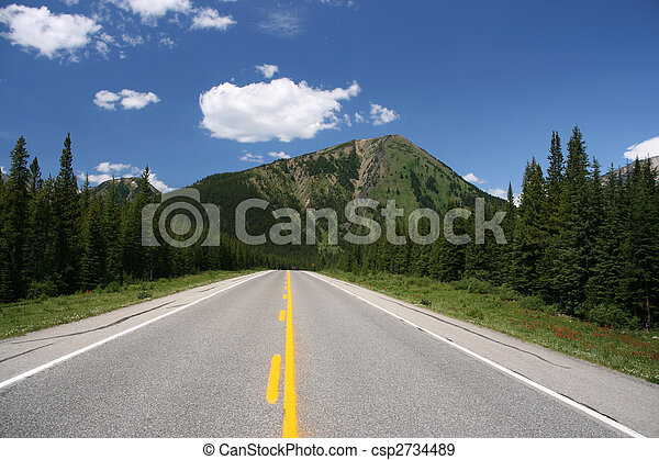 Canadian Rockies - csp2734489