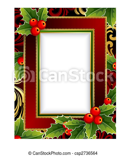 Christmas frame - csp2736564