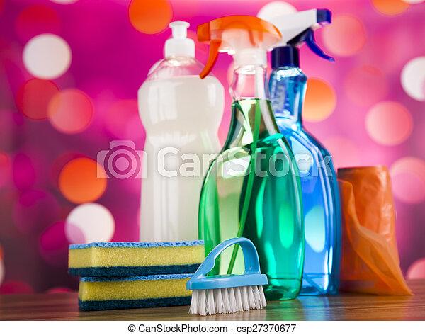 Immagini di pulizia prodotti casa lavoro colorito - Pulizia casa dopo lavori ...