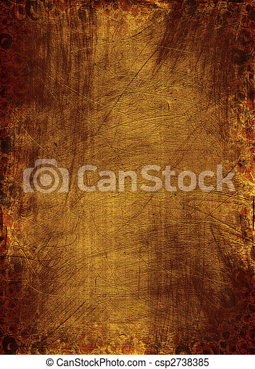 Grunge, hintergrund, Beschaffenheit - csp2738385