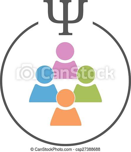 Social or crowd psychology - csp27388688