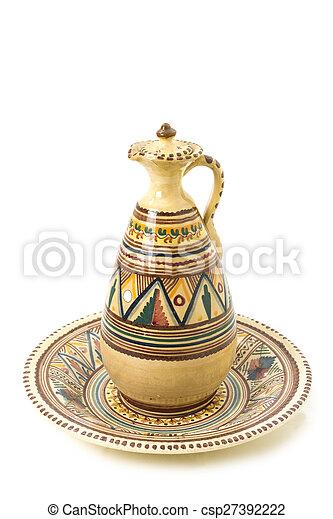 Old Ceramic Jug - csp27392222