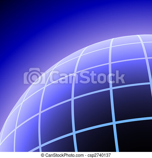Meshed planet background - csp2740137