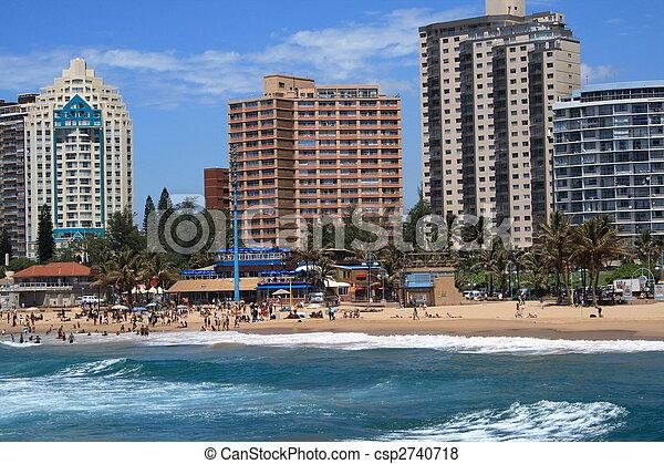 Durban coastline - csp2740718