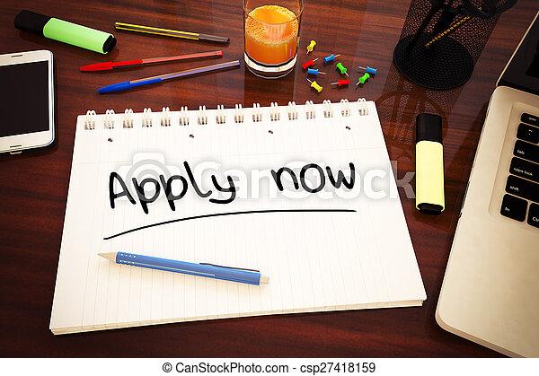 Apply now - csp27418159
