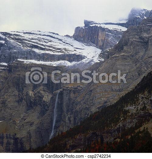 mountain cascade - csp2742234