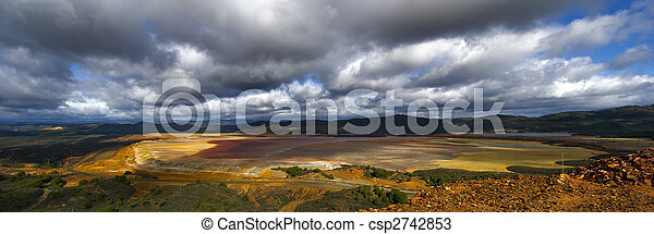 tailings pond - csp2742853