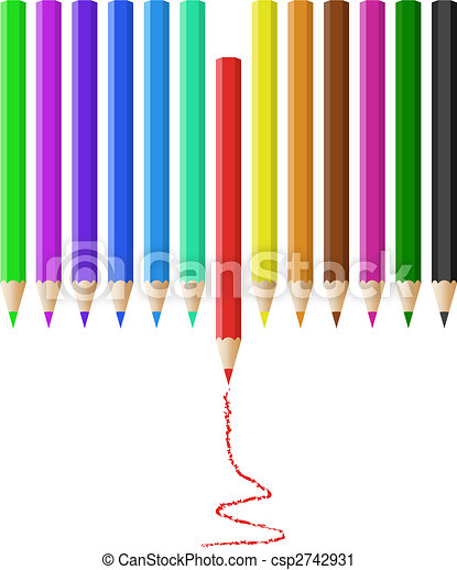 Color pencils - csp2742931