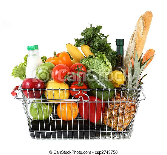 shopping basket - csp2743758