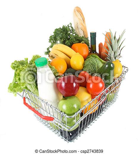 shopping basket - csp2743839