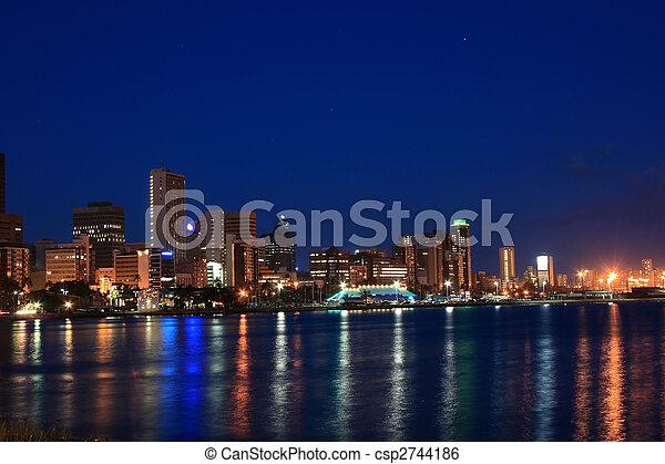 Durban night scene