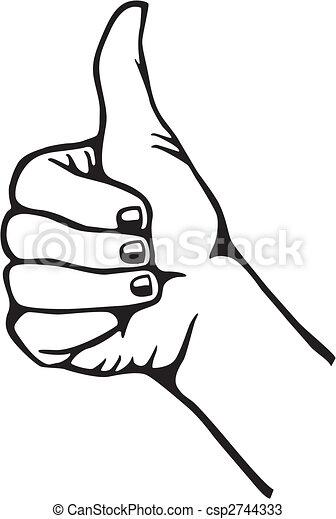 Thumb up - csp2744333