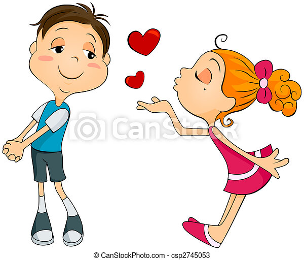 Drawings Of Flying Kiss Csp2745053 - Search Clipart Illustration And EPS Vector Graphics Images