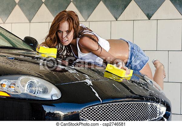 Auto waschen richtig