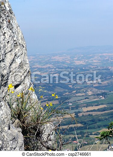 view from a cliff - csp2746661