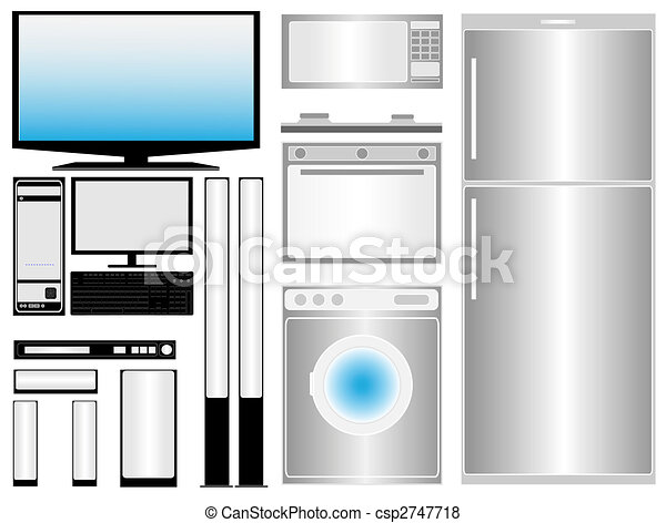 Elektronic and household appliances - csp2747718