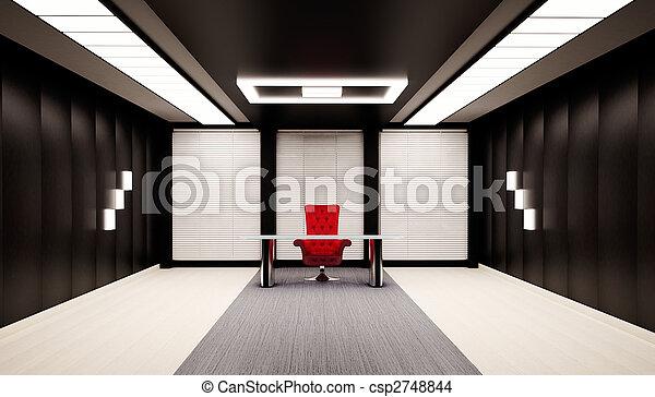Office interior 3d - csp2748844