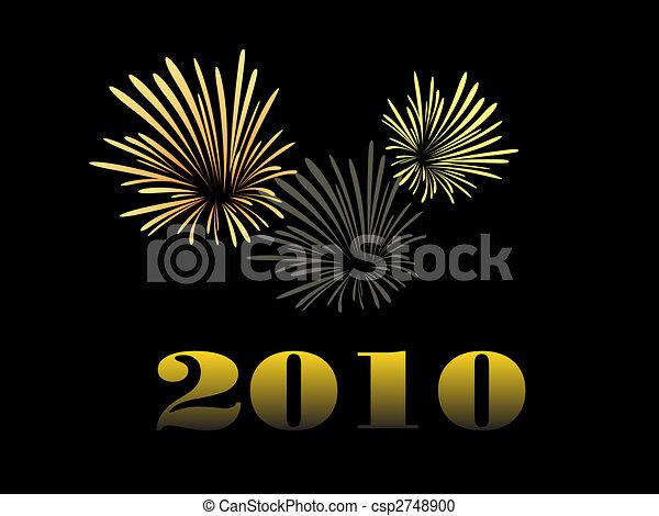 happy new year - csp2748900