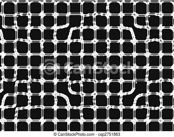 abstract grate - csp2751863