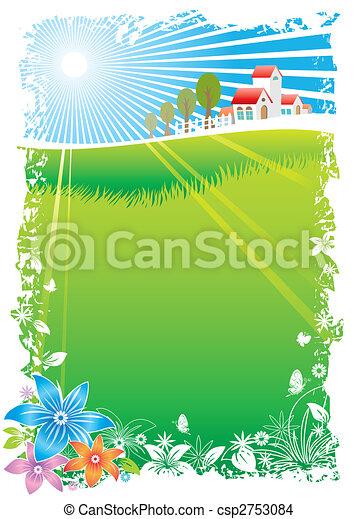 Green Village - csp2753084
