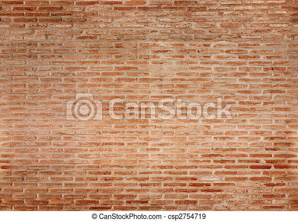 seamless brick wall texture - csp2754719