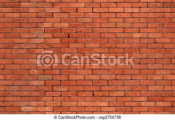 seamless brick wall texture - csp2754738