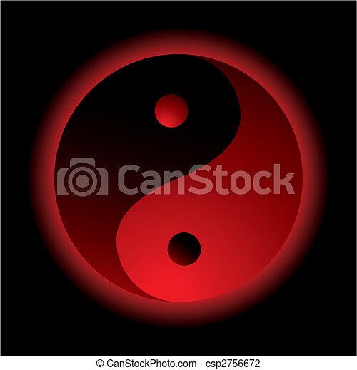 ying yang burn - csp2756672