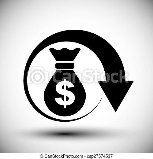 X Arrow Money Bag X Arrow Money Bag