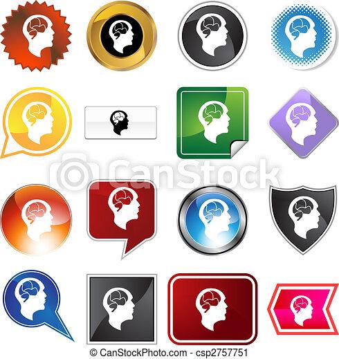 Brain Head Variety Set - csp2757751