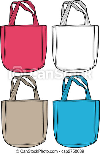 fashion bag illustration - csp2758039