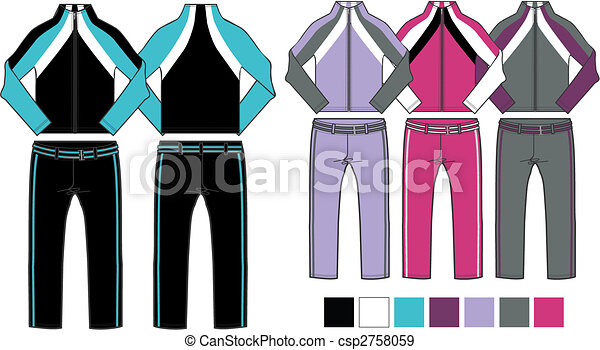 lady aerobic sporty set - csp2758059