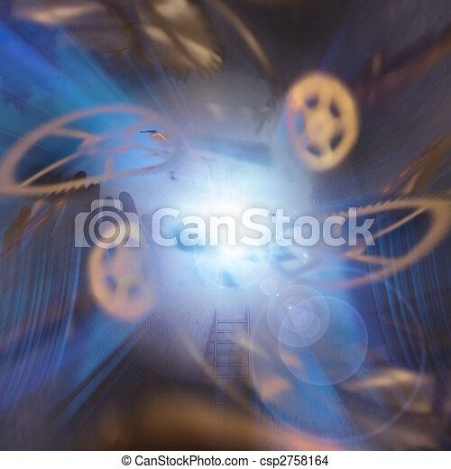 Sci Fi Composition - csp2758164
