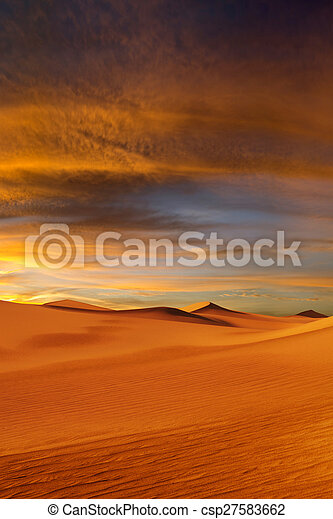 view of nice sands dunes at Sands Dunes National Park