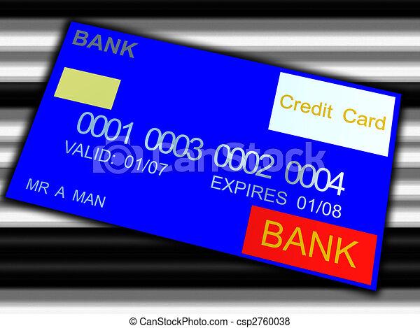 Bank Card - csp2760038