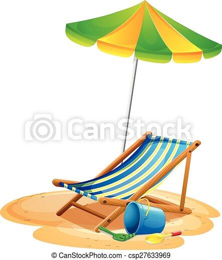 Beach chair - csp27633969