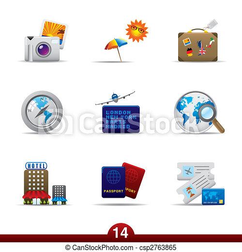 Icon series - travel - csp2763865