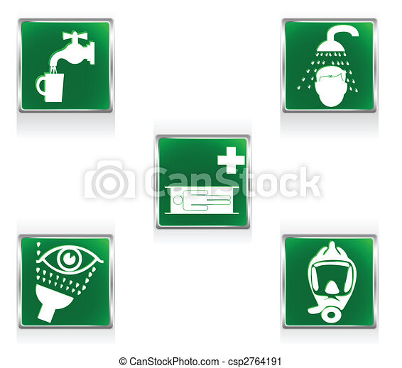 First aid signs - csp2764191