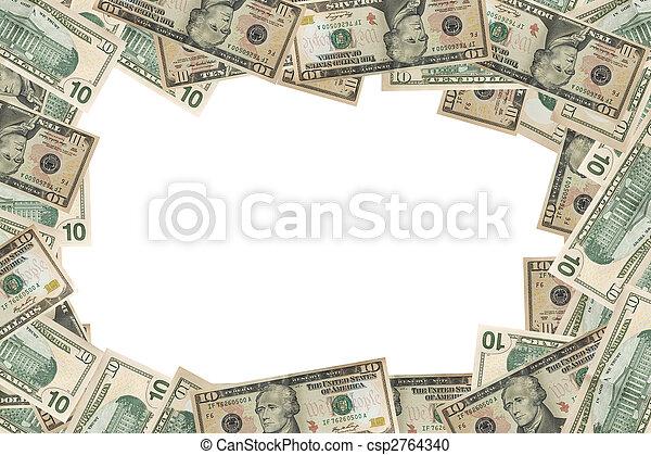 currency dollar finances background - csp2764340