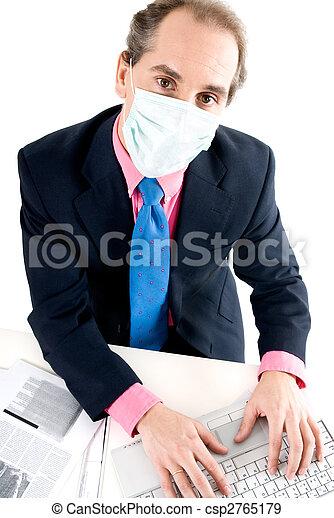 Flu prevention at work - csp2765179