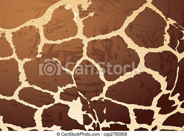 giraffe pattern skin - csp2765958