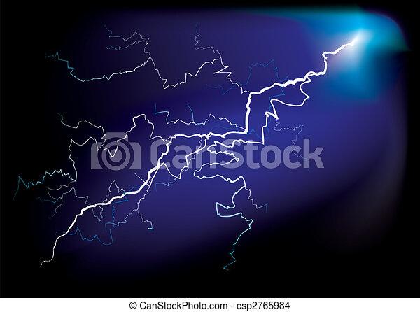 lightning strike - csp2765984