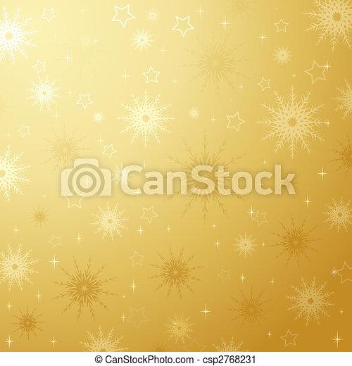 Snowflakes and stars - csp2768231