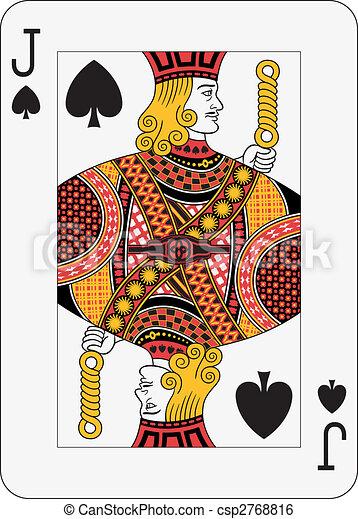 Jack of Spades - csp2768816