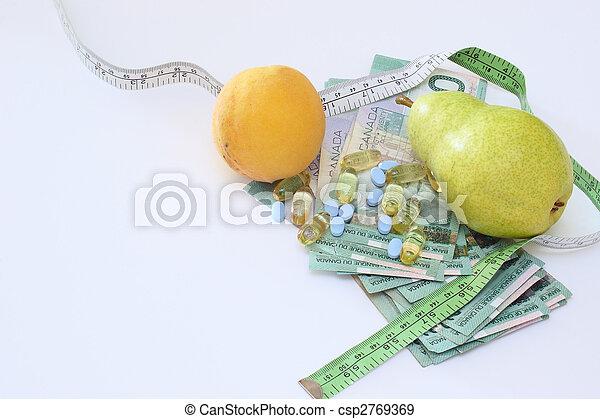 Health Money - csp2769369